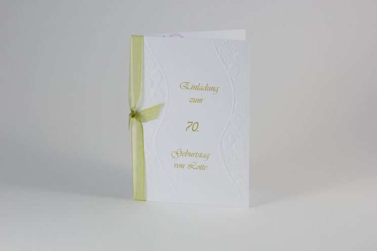 Einladung Geburtstag Variation 2